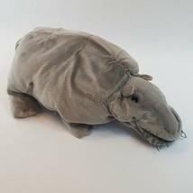 Rare NCIS Hippo Folkmanis Plush Puppet Bert NO SOUND BOX Soft Toy Stuffe... - $65.20