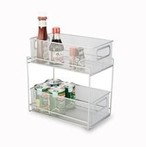Artestia 2-Tier Mesh Steel Double Sliding Cabinet Basket Organizer/Drawe... - $27.22
