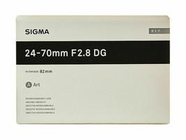 Sigma Art 24-70mm F/2.8 DG OS HSM Lens For Canon (Black) - $999.99