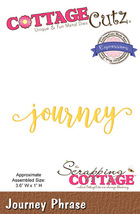 Journey. Cottage Cutz Die. Card Making. Scrapbooking CLEARANCE