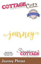 Journey. Cottage Cutz Die. Card Making. Scrapbooking