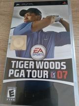Sony PSP Tiger Woods PGA Tour 07 image 1