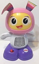 Fisher Price Bright Beat Belle DLX Robot Dance and Move Musical Learning Pink - $17.55