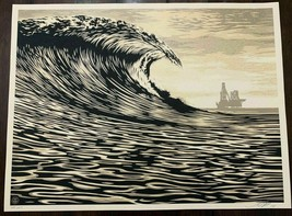Shepard Fairey - Obey - Slick New Wave - Screen Print - Ltd. Ed. 2014 - $742.50