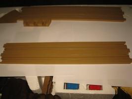 "1989 Aurora Devil's Ditch Slot Car Playset piece: 15"" Straight Track Section  - $5.00"