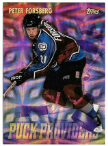 1998-99 Peter Forsberg Topps Puck Providers - Colorado Avalanche - $2.14