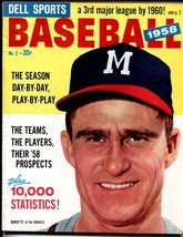 Dell Sports Baseball #2 1958-Ted Williams-Lew Burdette-MLB-pix-info-VF/NM - $90.94