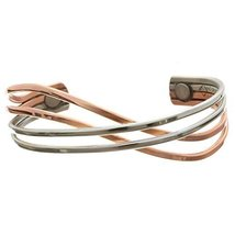 Sergio Lub Magnetic Adjustable Copper Cuff Bracelet - Meditation, M