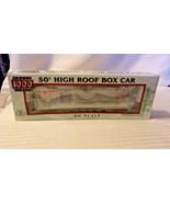 HO Scale Proto 1000 50' High Roof Box Car, Life Magazine 1960s BNOS Ltd.... - $14.85