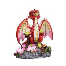 ABZ Brand Apple Seeds Tree Blooms Dragon Statue by Stanley Morrison - $21.77