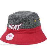 Miami Heat - Mitchell & Ness NBA Basketball E-Print Bucket Style Cap Hat - L/XL - $23.70