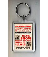 Hank Snow Poster Keyring NEW - $5.95