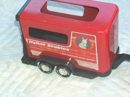 1980s Nylint Metal Plastic Show Horse Stables Champion Trailer for Ford ... - $32.30