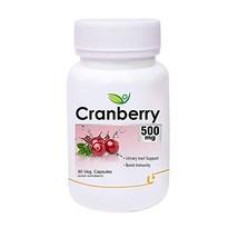 Krishna Biotrex Nutraceuticals Cranberry 500mg - 60 Veg Capsules - $58.57