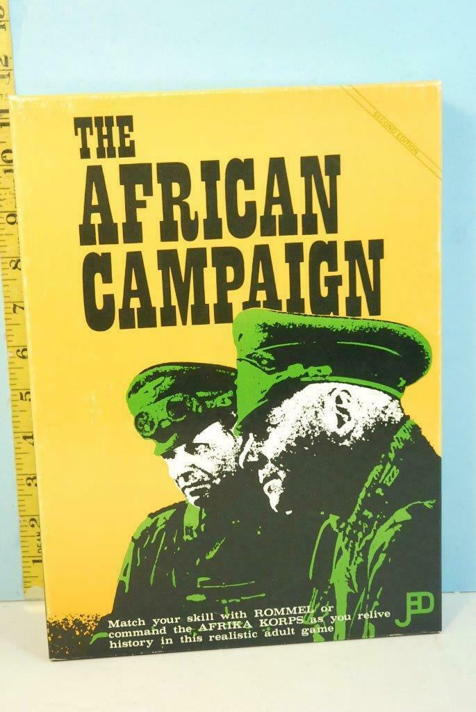 The African Campaign Rommels Afrika Korps Jedko 1973 Punched 2nd Edition