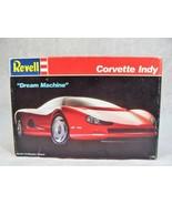 """REVELL CORVETTE INDY """"DREAM MACHINE"""" 1:25 CAR MODEL KIT - $19.79"""