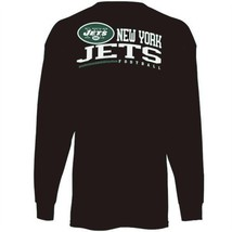 Reebok, New York Jets Black 100% Cotton Long Sleeve Tee Youth  (NEW) - $9.95