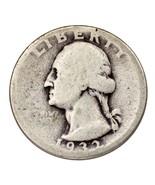 1932-D Silver Washington Quarter 25C (About Good, AG Condition) - $940,05 MXN