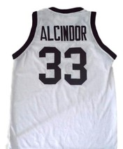 Alcindor #33 Power High School Abdul Jabbar Basketball Jersey White Any Size  image 2