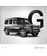 2015 Mercedes-Benz G-CLASS brochure catalog US 15 550 63 AMG - $15.00