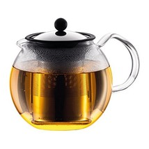 Bodum Assam Glass Tea Press with Stainless Steel Filter and Lid, 1.5-Lit... - $33.50