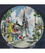 Royal Doulton Ports Of Call French Quarter New Orleans Collector Plate 1976 - $17.97