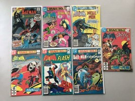 Lot of 7 Brave and the Bold (1955 1st Series DC) #79 186 187 193 194 197... - $51.48