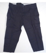 Izod 0-9 Chino Black Metrix Fit Weathered Twill Cargo Pants Men's NWT - $52.49