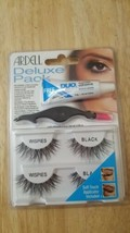 68947 Ardell Deluxe Pack False Eyelashes Adhesive & Applicator - WISPIES... - $4.95
