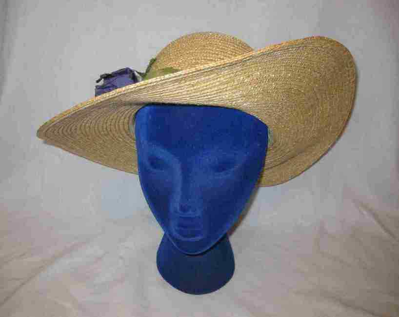 8fc53a7fb4437 Nice Womens Liz Claiborne Straw Like Hat and 14 similar items. S l1600