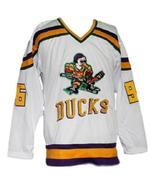 Custom Name # Mighty Ducks Retro Hockey Jersey New White Conway #96 Any ... - $54.99+