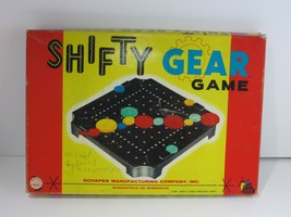 Vintage Rare Shifty Gear Schaper Board Game 1962 - Incomplete - $29.70