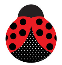 Ladybug Fancy Plate (L)Shaped 9 in [Contains 4 Manufacturer Retail Unit(... - $30.61