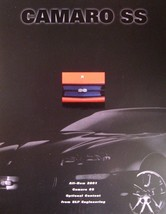 2001 Chevy Camaro SS SLP Engineering Brochure Sheet, GM LS1 Chevrolet 01 - $4.74