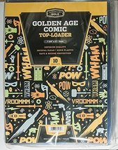 20 Cardboard Gold Golden Age Comic Book Top Loaders Archival Safe by Car... - $34.99