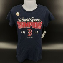 MLB Boston Red Sox 2018 World Series Champions Girl's T-Shirt Size M - N... - $9.99