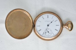 1899 Elgin Pocket watch ~ 15 Jewels, Size 16, Grade 152, Model 6, Gold Filled  - $151.89