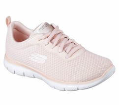 12775 Light Pink Skechers shoe Women Memory Foam Sport Train Comfort Cas... - $49.79
