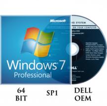 DELL REINSTALLATION WINDOWS 7 PROFESSIONAL 64 BIT SP1 DVD NO KEY WIN 7 P... - $19.99