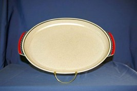 """Lenox Temperware Staccato Double Handled Oval Platter 15"""" - $20.24"""