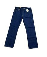 Levis 501 Mens Jeans Size 36 X 32 Button Fly Straight Leg Cotton Original - $43.56