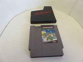 Teenage Mutant Ninja Turtles (Nintendo NES, 1989) cart only TMNT Video Game - $13.11