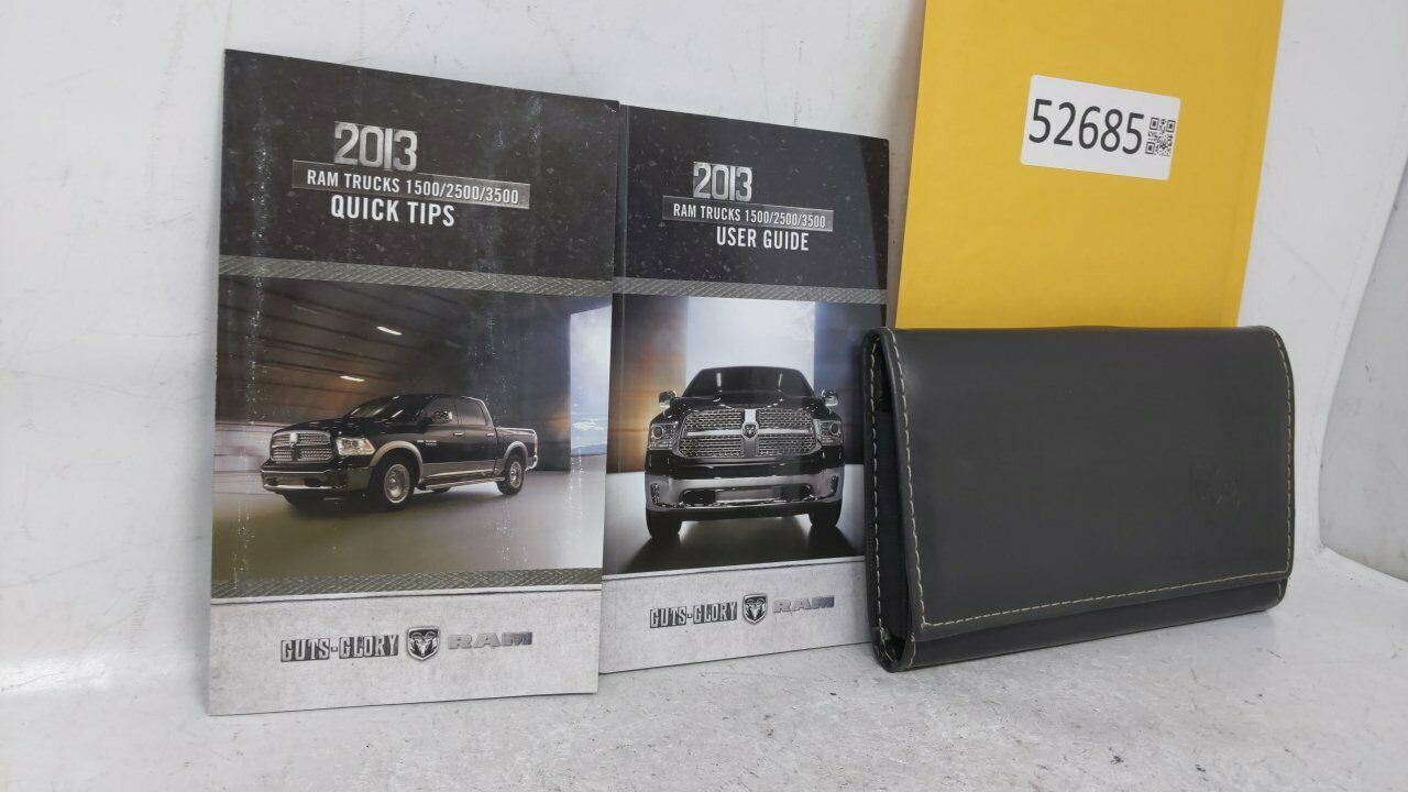2013 Dodge Ram 1500 Owners Manual 52685