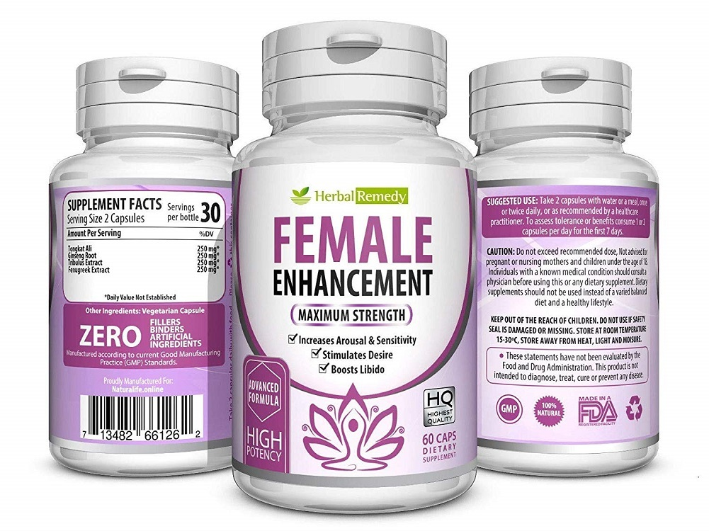 Female Enhancement Testosterone Booster Increase Stamina Boosts Drive 60 Caps - Other Vitamins