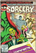 Chilling Adventures In Sorcery Comic Book #4 Archie Comics 1973 FINE+ - $7.84