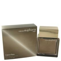 Euphoria Intense By Calvin Klein For Men 100 ml / 3.4 oz EDT Spray - $30.69
