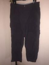 WOMEN'S REI CLASSIC CO-OP SAHARA CONVERTIBLE NYLON HIKING PANTS / SHORTS... - $36.62