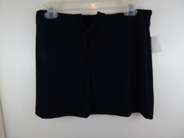 Evolution Womens Large Black Zipper Short Skirt With Tag Never Worn - £5.30 GBP