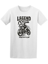 Biker Motorcycle Silhouette Men's Tee -Image by Shutterstock - $12.86+