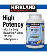 Kirkland Signature B100 Complex Tablets 300 TABS -FROM CANADA -LONG EXPIRY - $38.36